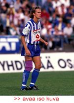 HJK:n Rami Rantanen kaudella 1992