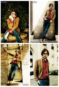 Jarvis Cocker, without the beard though Jarvis Cocker, Britpop, Music People, Photo Series, Pretty Men, Rockers, Sheffield, My Boyfriend, Style Icons