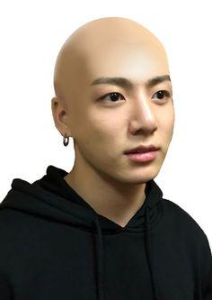Jungkook is bald Kookie Bts, Foto Jungkook, Foto Bts, Jungkook Funny, Bts Memes Hilarious, Bts Funny Videos, Stupid Memes, Bts Meme Faces, Funny Faces