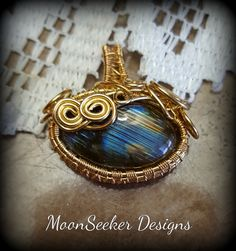 "Wire Wrapped Pendants - Moonseeker Designs-""Exclusive to You""   http://www.MoonSeekerDesigns.us"