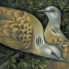 Two Turtle Doves by Sara Tyson