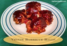 Whether served as an appetizer, main dish, or on a sub sandwich, these fabulous veggie barbecue balls will be a hit! Last week, I took a batch to a company dinner and a family reunion, and they got rave reviews!