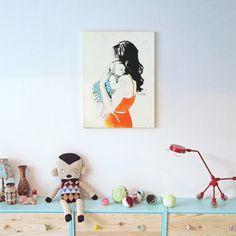 Illustration Friday & littlePortrait | La Belette Rose