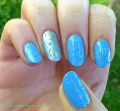 Nail Art With Silver Touch | Young Craze