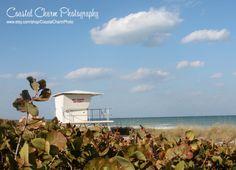 8x10 Florida Beach Lifeguard Station by CoastalCharmPhoto on Etsy, $15.00 #beach #florida #lifeguard