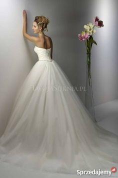 Suknia ślubna Diane Legrand  #slub #wesele #suknia #panmlody #pannamloda