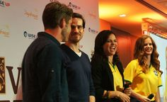 Colin, Sean, Lana and Rebecca at #EvereAfter Con