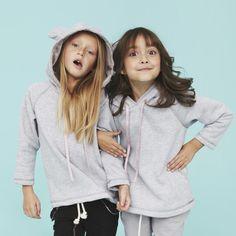 Stylowa bluza ADELE od Pola & Frank w kolorze szary melanż