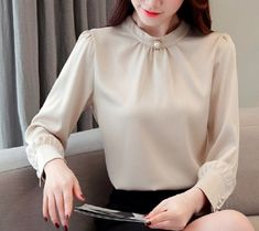 Moral, Plus Size Tops, Chiffon, Blouse, Shirts, Long Sleeve, Women, Style, Products