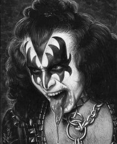 Kiss Images, Kiss Pictures, Laveyan Satanism, Kiss World, Vinnie Vincent, Peter Criss, Kiss Art, Star Children, Makeup Art
