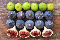 See the difference between common varieties of figs from ultra-sweet Black Mission Figs to the bright red interiors of Adriatic figs.
