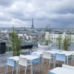 Viewpoint - Printemps Terrace, Paris