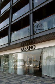 Hotel Fasano localizado no lendário bairro de Ipanema, com várias opções de centros culturais, cinemas, lojas, galerias, e os mais sofisticados restaurantes e bares. Curta essa Viagem #Brasil