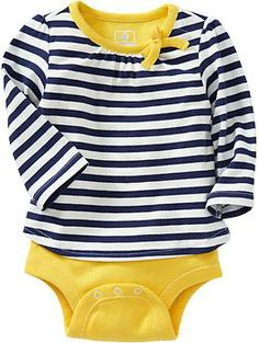 2-in-1 Tee Bodysuits for Baby