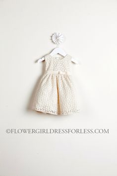 Girls Dress Style 471- Floral Embroidery Sleeveless Dress $39.99