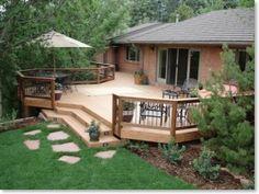 back yard deck designs