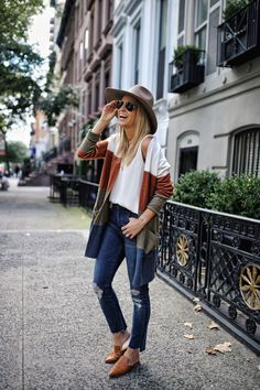 Style casual fall cardigans New ideas Outfits Otoño, Cardigan Outfits, Fall Fashion Outfits, Autumn Fashion, Casual Outfits, Womens Fashion, Fashion Trends, Fashion Lookbook, Boho Fashion