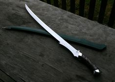 Elven Sword | Castle Keep, Isle of Skye - Fine Handcrafted Blades