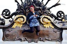 Collection Automne/Hiver 2015 Balsamik - mocassins tricolores portés par la blogueuse Nathalie du blog The crazy soprane. Les mocassins: http://www.balsamik.fr/mocassins-tricolores-noir.htm?ProductId=061051499&FiltreCouleur=6551&t=1