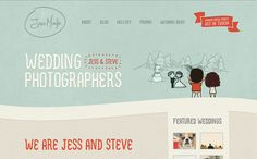 35 great examples of WordPress websites - Jess Marks Photography