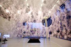 Dôme fait par des vers à soie by Neri Oxman