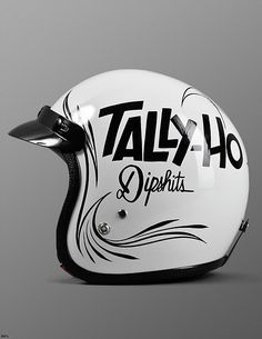 Helmet with a message....