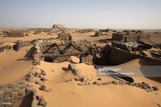 The ruins of the medieval city of Old Dongola, Sudan, Africa