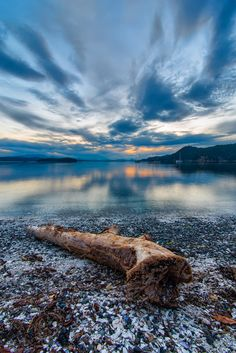 ~~Montague Harbour Log ~ Galiano Island, BC Canada by James Wheeler~~ Amazing Photography, Nature Photography, West Coast Canada, Beautiful Places, Beautiful Pictures, Lovely Things, Sea To Shining Sea, Places Around The World, Places To Go