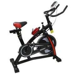 Stationary Exercise Bicycle Indoor Bike Cycling Cardio Health Workout Fitness  | eBay