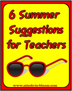 6 Summer Suggestions