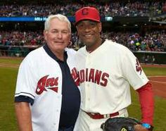 Pure Awesomeness!  Mike Hargrove & Sandy Alomar jr. Opening Day 2014
