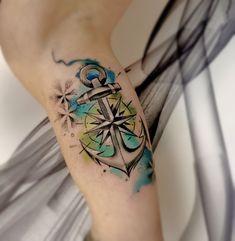 Watercolor Tattoo, watercolor art, watercolor Anker, Anker, Anker tattoo, tattoo Idea, tattoo idee, tattoo Anker! Wasserfarben Tattoo, best tattoo, girly tattoo, girl tattoo, Surf-ink-Tattoo, Ted Bartnik, luxury tattoo, tattoo design, anchor tattoo, aqarell tattoo, watercolour tattoo Watercolor Anchor Tattoo, Watercolor Tattoo, Watercolour, Anchor Tattoo Design, Anchor Tattoos, Girly Tattoos, Cool Tattoos, Aquarell Tattoo, Anker Tattoo