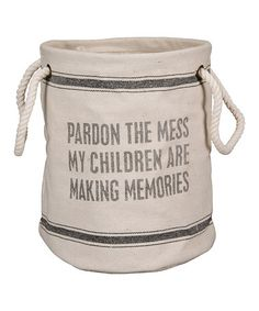 Love this 'Pardon the Mess' Tote on #zulily! #zulilyfinds