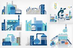 工廠 插畫 - Google 搜尋