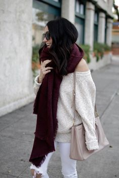 An Alternative Christmas Outfit // Winter White