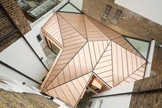 When A Copper Roof Steals The Show