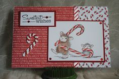 Art Studio 522: December House Mouse Christmas Card