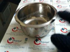 Original Medical: Hospital Stainless Steel Gallipot  This stainless steel hospital Gallipot is also one of our hospital holloware products at Original Medical Equipment company pvt.ltd as a leading Hospital Medical products and equipment manufacturer and worldwide suppliers. Our all products are best quality. Know more about our this products plz visit our website. Medical Equipment, Dog Bowls, Stainless Steel, Website, The Originals, Products, Gadget