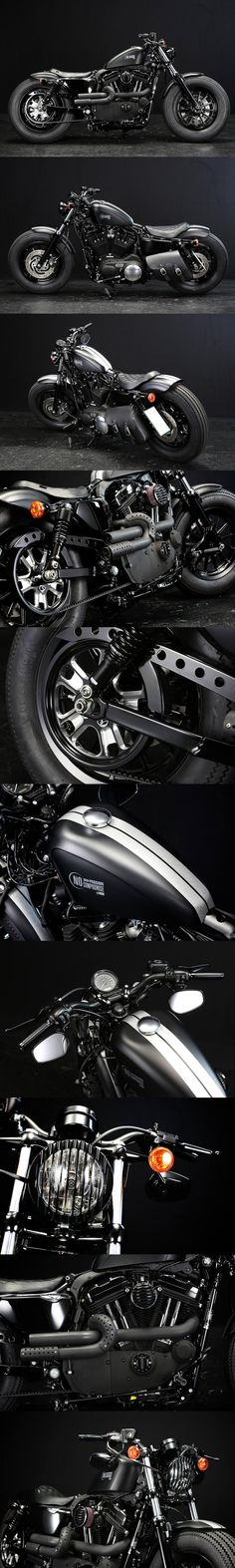 Harley-Davidson Sportster 48 Custom from Rough Crafts Call S .- Harley-Davidson Sportster 48 Custom von Rough Crafts Rufen Sie heute an oder sch… Harley-Davidson Sportster 48 Custom from Rough Crafts Call Today or Watch … – Motorcycles – - Harley Davidson Sportster, Sportster 48, Harley Davidson Chopper, Yamaha Virago, Harley Dyna, Davidson Bike, Ducati, Chopper Motorcycle, Motorcycle Style