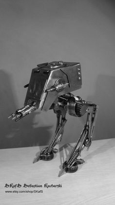 Scrap Metal Art Star Wars