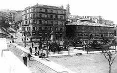 El Hotel Continental en las Avenidas, y justo a su lado en antiguo Mercado, sobre el año 1940... ¿Qué han hecho en la zona del Náutico?