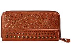 American West Mesa Zip Around Wallet