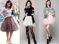 Edgy Tutu Skirts for New Year Eve