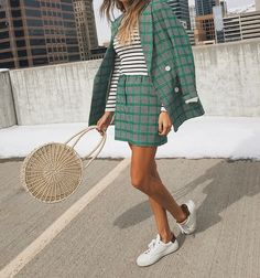 Daily Style Diaries: The #1 Trick To Mixing Prints and Colors
