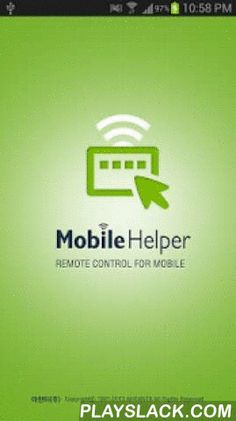 Mobile Helper  Android App - playslack.com ,  MobileHelper is a remote control service for the android mobile devices without a risk of personal information leakage. Corporation, financial institution, public offices which need a mobile remote control service can provide the best remote control service to their customers with WiZHelper.