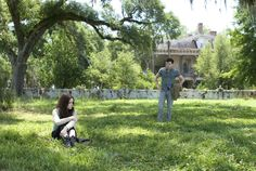 Ethan Wate and Lena Duchannes from Beautiful Creatures (the books not the movie)