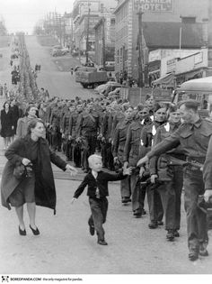 """Wait For Me Daddy,"" by Claude P. Dettloff in New Westminster, Canada, October 1, 1940"
