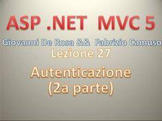 ASP .NET MVC 5 (Playlist 1) ITA 27: Autenticazione - seconda parte - #ASP #Autenticazione #BusinessModels #CodeFirst #CorsoASPNETMVC #DataFirst #DataModel #DomainModels #Educational #EntityFramework #MVC5 #ViewModels http://wp.me/p7r4xK-j9