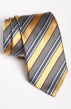 Ermenegildo Zegna Woven Silk Tie at Nordstrom
