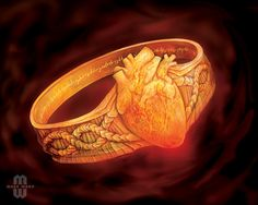 Elfric's Life Ring. Promo card for Mage Wars.